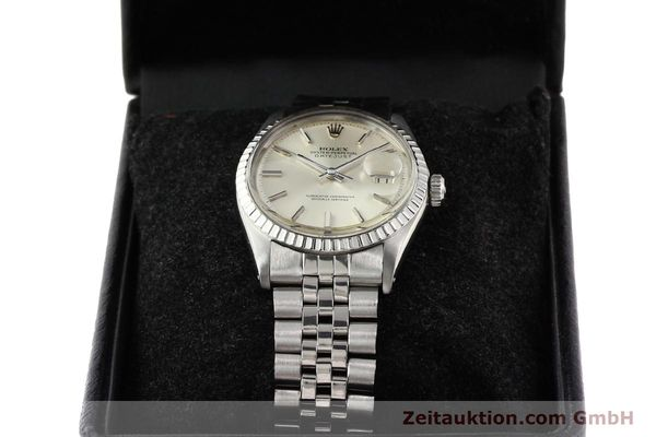 Used luxury watch Rolex Datejust steel automatic Kal. 1570 Ref. 1601-3  | 141273 07