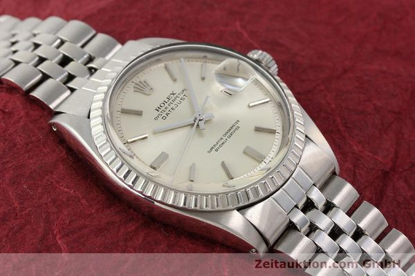 Used luxury watch Rolex Datejust steel automatic Kal. 1570 Ref. 1601-3  | 141273 14