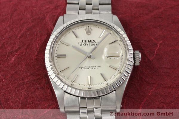 Used luxury watch Rolex Datejust steel automatic Kal. 1570 Ref. 1601-3  | 141273 15