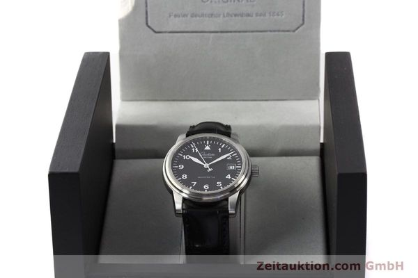 Used luxury watch Glashütte Navigator steel automatic Kal. 39-10  | 141276 07