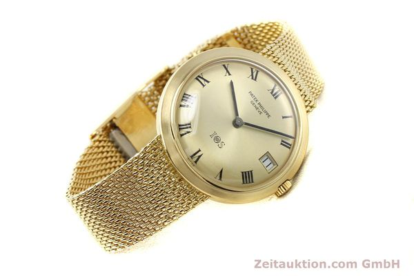 Used luxury watch Patek Philippe Calatrava 18 ct gold automatic Kal. 27-460 Ref. 35651  | 141277 03