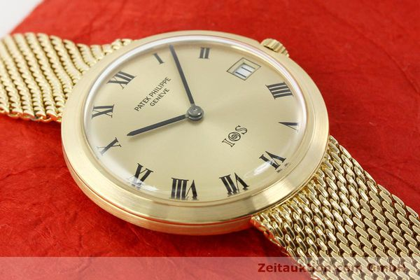 Used luxury watch Patek Philippe Calatrava 18 ct gold automatic Kal. 27-460 Ref. 35651  | 141277 16