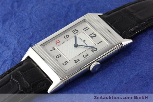 Used luxury watch Jaeger Le Coultre Reverso steel manual winding Kal. 822 Ref. 277.8.62  | 141278 01