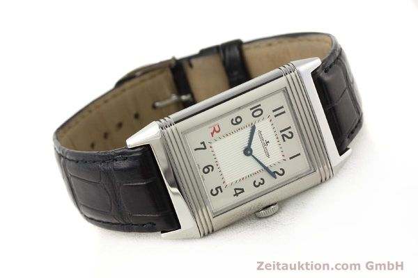 Used luxury watch Jaeger Le Coultre Reverso steel manual winding Kal. 822 Ref. 277.8.62  | 141278 03