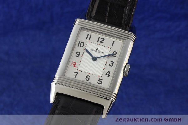 Used luxury watch Jaeger Le Coultre Reverso steel manual winding Kal. 822 Ref. 277.8.62  | 141278 04