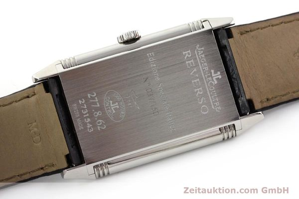 Used luxury watch Jaeger Le Coultre Reverso steel manual winding Kal. 822 Ref. 277.8.62  | 141278 09