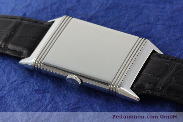 Used luxury watch Jaeger Le Coultre Reverso steel manual winding Kal. 822 Ref. 277.8.62  | 141278 15