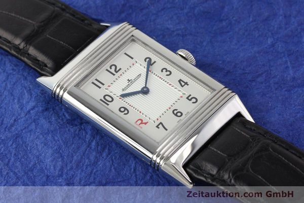 Used luxury watch Jaeger Le Coultre Reverso steel manual winding Kal. 822 Ref. 277.8.62  | 141278 17