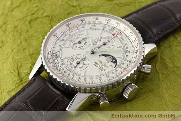 Used luxury watch Breitling Montbrillant steel automatic Kal. B19 ETA 2892A2 Ref. A19340  | 141281 01