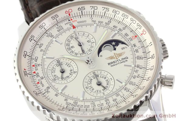 Used luxury watch Breitling Montbrillant steel automatic Kal. B19 ETA 2892A2 Ref. A19340  | 141281 02