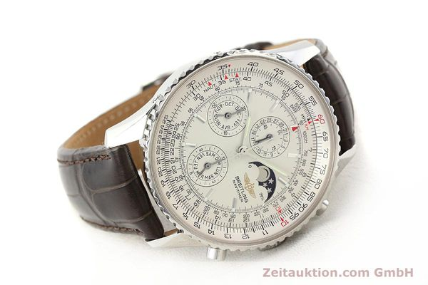 Used luxury watch Breitling Montbrillant steel automatic Kal. B19 ETA 2892A2 Ref. A19340  | 141281 03
