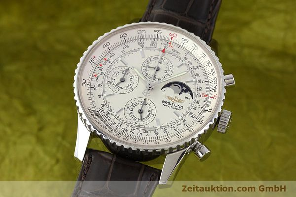 Used luxury watch Breitling Montbrillant steel automatic Kal. B19 ETA 2892A2 Ref. A19340  | 141281 04