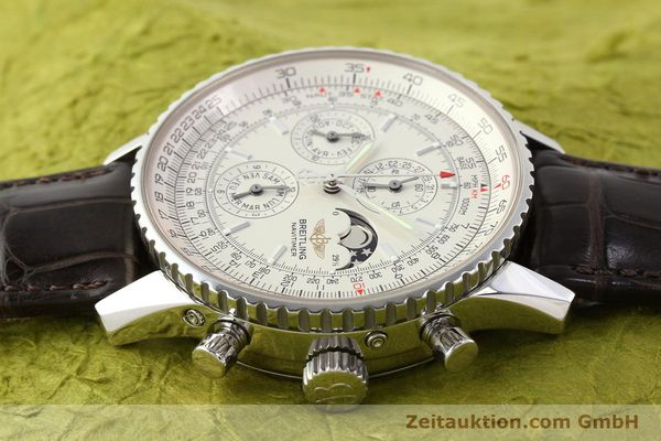 Used luxury watch Breitling Montbrillant steel automatic Kal. B19 ETA 2892A2 Ref. A19340  | 141281 05