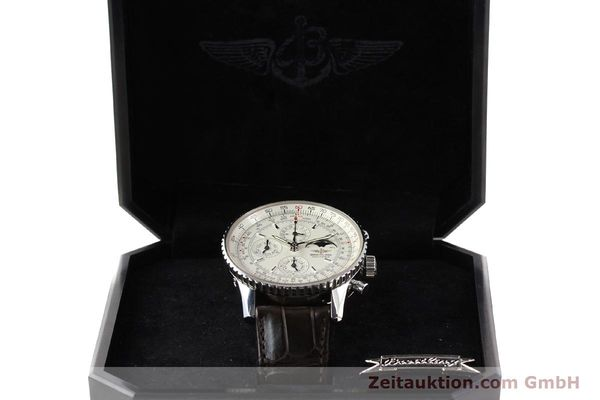 Used luxury watch Breitling Montbrillant steel automatic Kal. B19 ETA 2892A2 Ref. A19340  | 141281 07