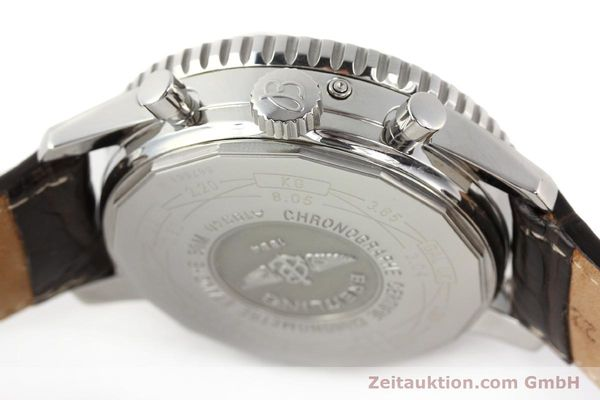 Used luxury watch Breitling Montbrillant steel automatic Kal. B19 ETA 2892A2 Ref. A19340  | 141281 08