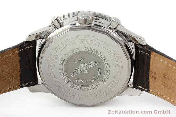 Used luxury watch Breitling Montbrillant steel automatic Kal. B19 ETA 2892A2 Ref. A19340  | 141281 09