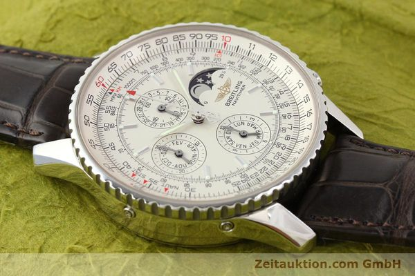 Used luxury watch Breitling Montbrillant steel automatic Kal. B19 ETA 2892A2 Ref. A19340  | 141281 13
