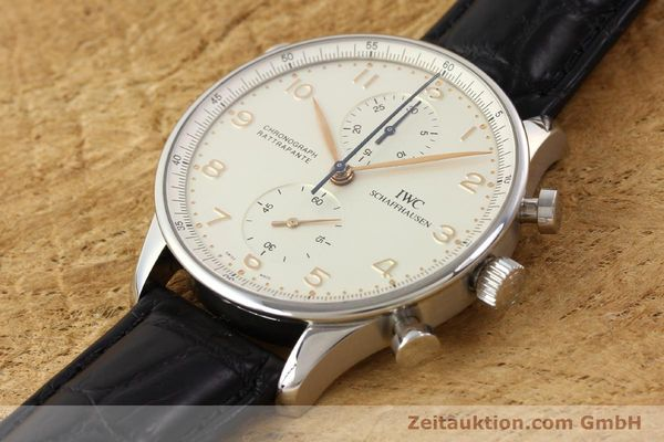 Used luxury watch IWC Portugieser steel manual winding Kal. C.76240 Ref. 3712  | 141283 01
