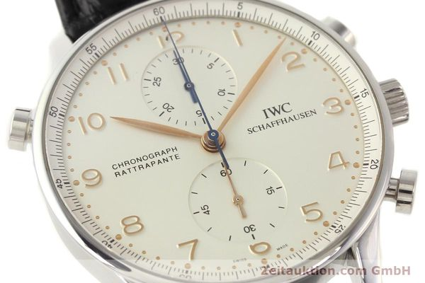 Used luxury watch IWC Portugieser steel manual winding Kal. C.76240 Ref. 3712  | 141283 02
