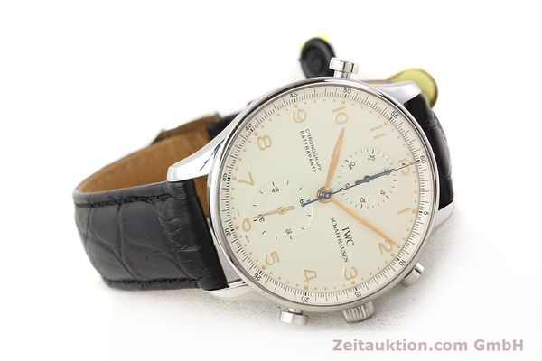 Used luxury watch IWC Portugieser steel manual winding Kal. C.76240 Ref. 3712  | 141283 03