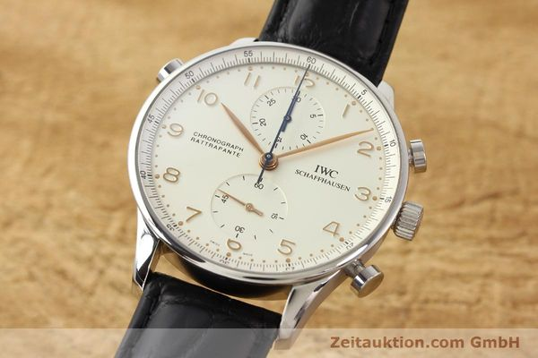 Used luxury watch IWC Portugieser steel manual winding Kal. C.76240 Ref. 3712  | 141283 04