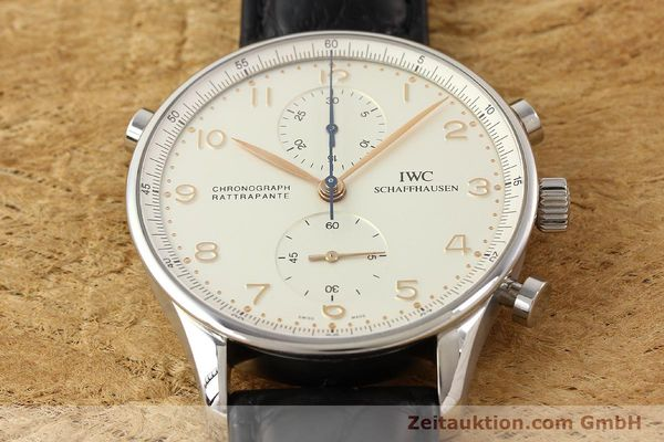 Used luxury watch IWC Portugieser steel manual winding Kal. C.76240 Ref. 3712  | 141283 18
