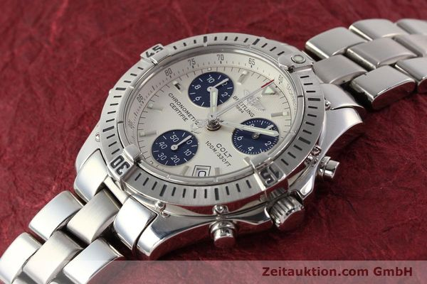 Used luxury watch Breitling Colt chronograph steel quartz Kal. B73 Ref. A73350  | 141287 01