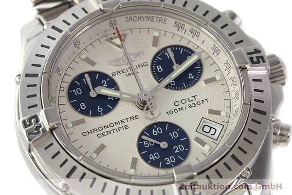 Used luxury watch Breitling Colt chronograph steel quartz Kal. B73 Ref. A73350  | 141287 02