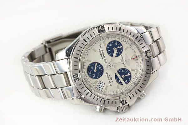 Used luxury watch Breitling Colt chronograph steel quartz Kal. B73 Ref. A73350  | 141287 03