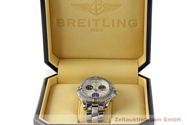 Used luxury watch Breitling Colt chronograph steel quartz Kal. B73 Ref. A73350  | 141287 07