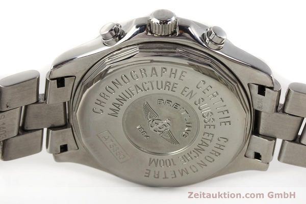 Used luxury watch Breitling Colt chronograph steel quartz Kal. B73 Ref. A73350  | 141287 09