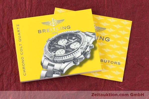 Used luxury watch Breitling Colt chronograph steel quartz Kal. B73 Ref. A73350  | 141287 12