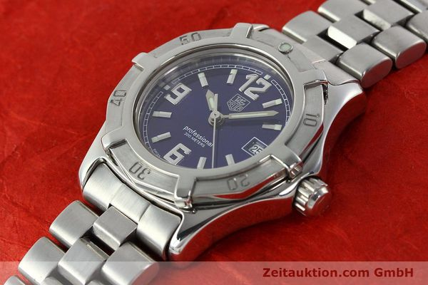 Used luxury watch Tag Heuer Professional steel quartz Kal. 2.98 ETA 955112 Ref. WN1312 VINTAGE  | 141288 01