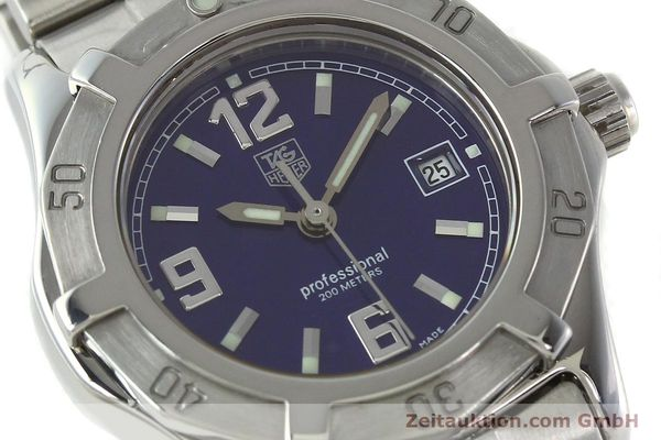 Used luxury watch Tag Heuer Professional steel quartz Kal. 2.98 ETA 955112 Ref. WN1312 VINTAGE  | 141288 02