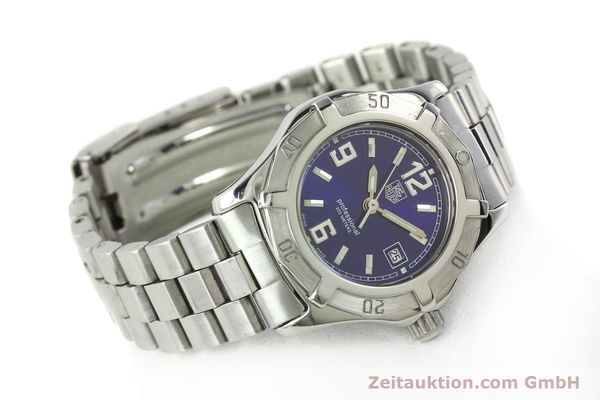 Used luxury watch Tag Heuer Professional steel quartz Kal. 2.98 ETA 955112 Ref. WN1312 VINTAGE  | 141288 03