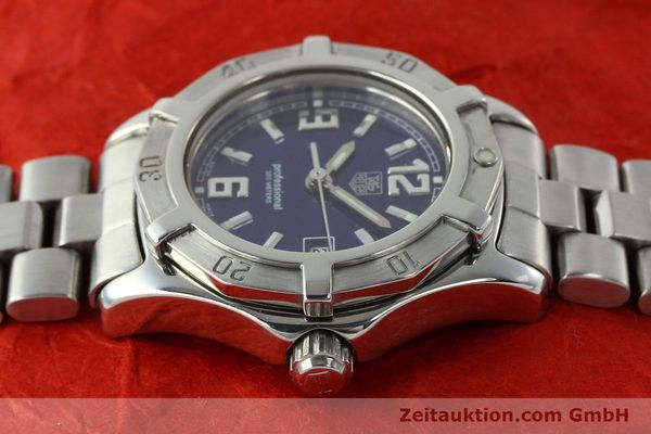 Used luxury watch Tag Heuer Professional steel quartz Kal. 2.98 ETA 955112 Ref. WN1312 VINTAGE  | 141288 05