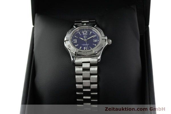 Used luxury watch Tag Heuer Professional steel quartz Kal. 2.98 ETA 955112 Ref. WN1312 VINTAGE  | 141288 07