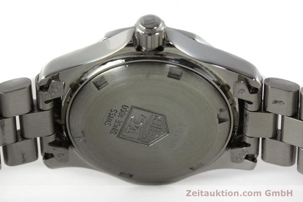 Used luxury watch Tag Heuer Professional steel quartz Kal. 2.98 ETA 955112 Ref. WN1312 VINTAGE  | 141288 09
