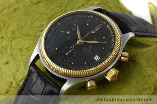 Used luxury watch Chronoswiss Pacific steel / gold automatic Kal. VAL 7750 Ref. CH7514  | 141291 01