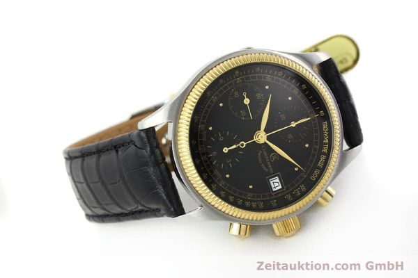 Used luxury watch Chronoswiss Pacific steel / gold automatic Kal. VAL 7750 Ref. CH7514  | 141291 03