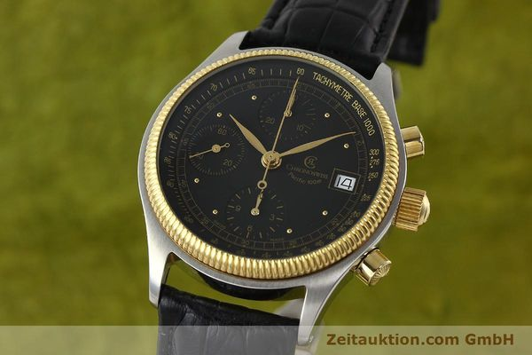 Used luxury watch Chronoswiss Pacific steel / gold automatic Kal. VAL 7750 Ref. CH7514  | 141291 04