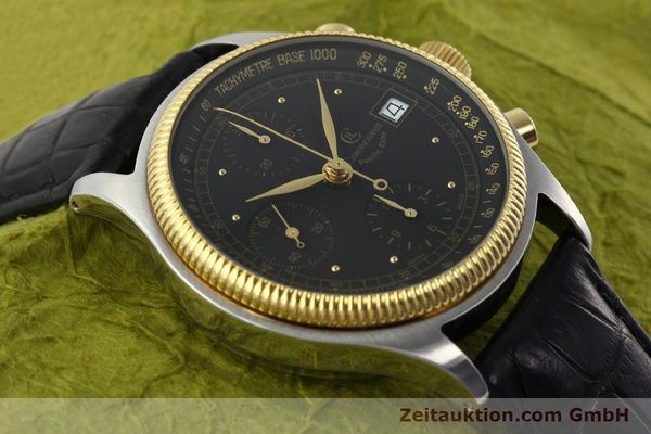 Used luxury watch Chronoswiss Pacific steel / gold automatic Kal. VAL 7750 Ref. CH7514  | 141291 14