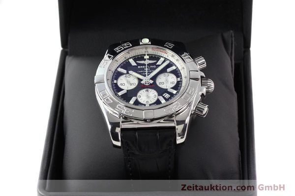 Used luxury watch Breitling B01 steel automatic Kal. B01 Ref. AB0110  | 141292 07