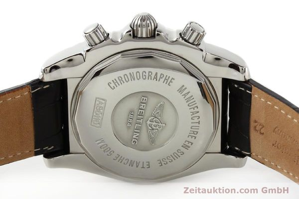 Used luxury watch Breitling B01 steel automatic Kal. B01 Ref. AB0110  | 141292 09