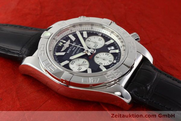 Used luxury watch Breitling B01 steel automatic Kal. B01 Ref. AB0110  | 141292 13