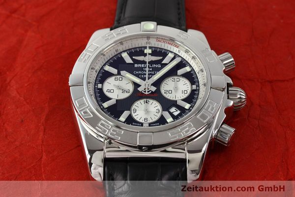 Used luxury watch Breitling B01 steel automatic Kal. B01 Ref. AB0110  | 141292 14