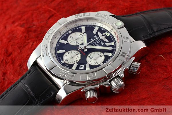 Used luxury watch Breitling B01 steel automatic Kal. B01 Ref. AB0110  | 141293 01