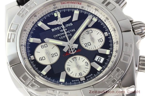 Used luxury watch Breitling B01 steel automatic Kal. B01 Ref. AB0110  | 141293 02