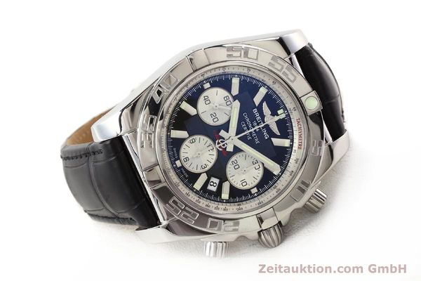 Used luxury watch Breitling B01 steel automatic Kal. B01 Ref. AB0110  | 141293 03