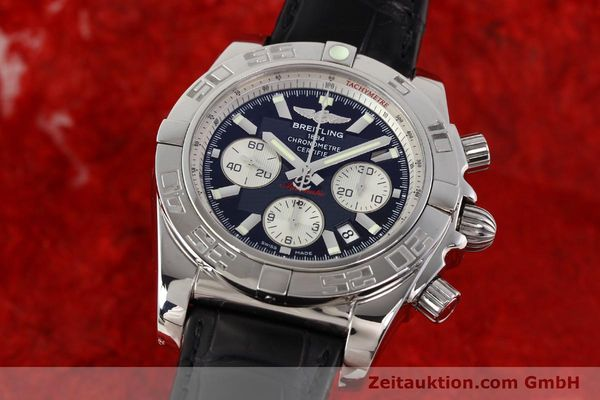 Used luxury watch Breitling B01 steel automatic Kal. B01 Ref. AB0110  | 141293 04